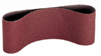 Sanding and surface conditioning belts with a width of 105/110mm